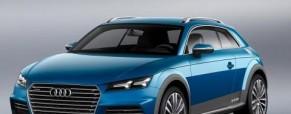 Mobil Audi TT Crossover