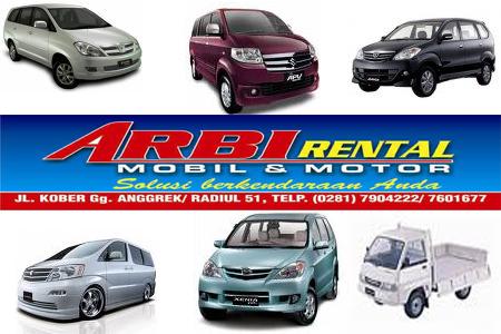 Rental Mobil di Purwokerto
