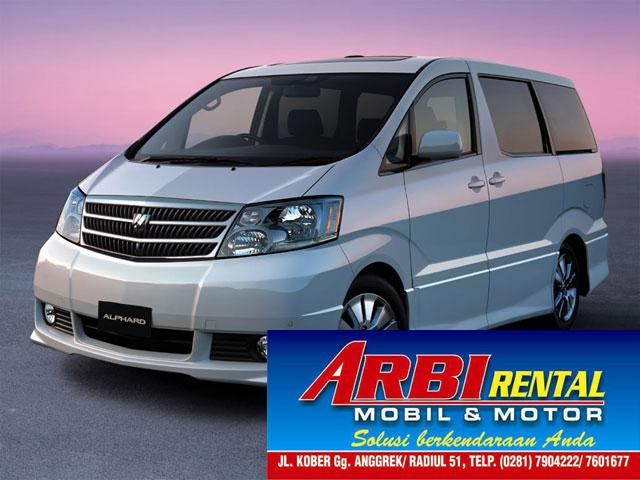 Rental Mobil Alphard Purwokerto
