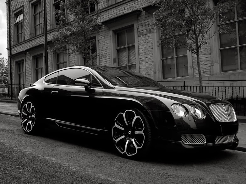 Bentley Continental GTS Black Edition